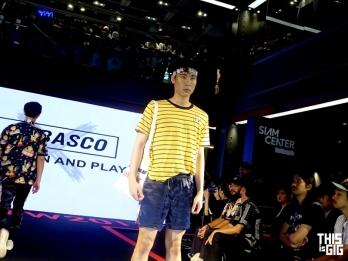 แฟชั่นโชว์คอลเลคชั่น Tabasco X Q Design and play