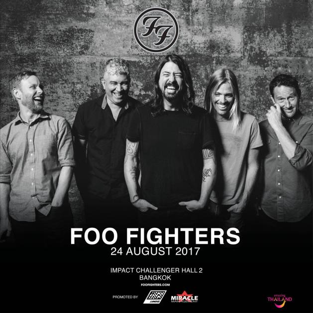 Foo Fighter Live in Bangkok