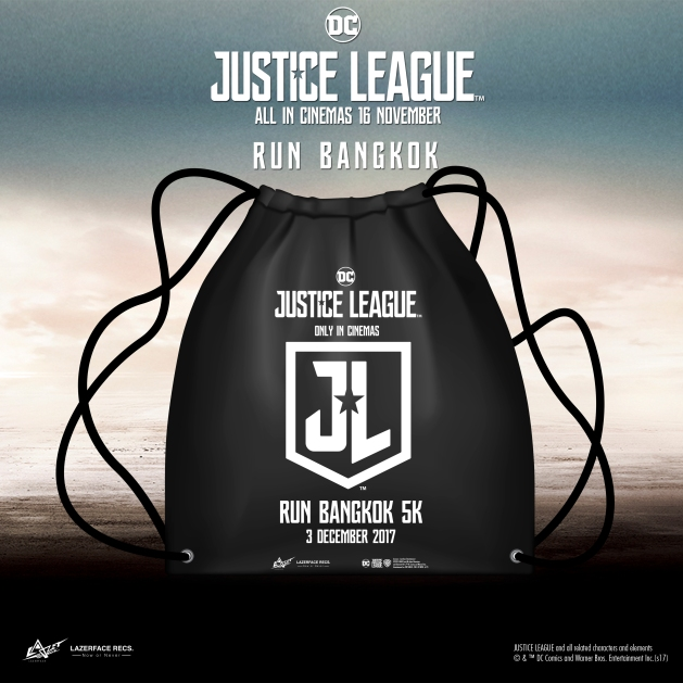Race Pack Justice League Run Bangkok
