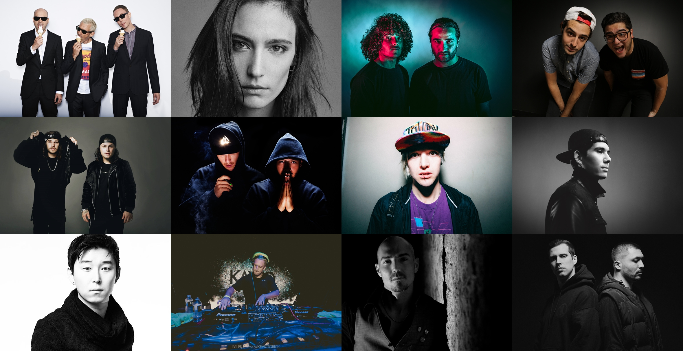 Line Up 808 Festival 2017
