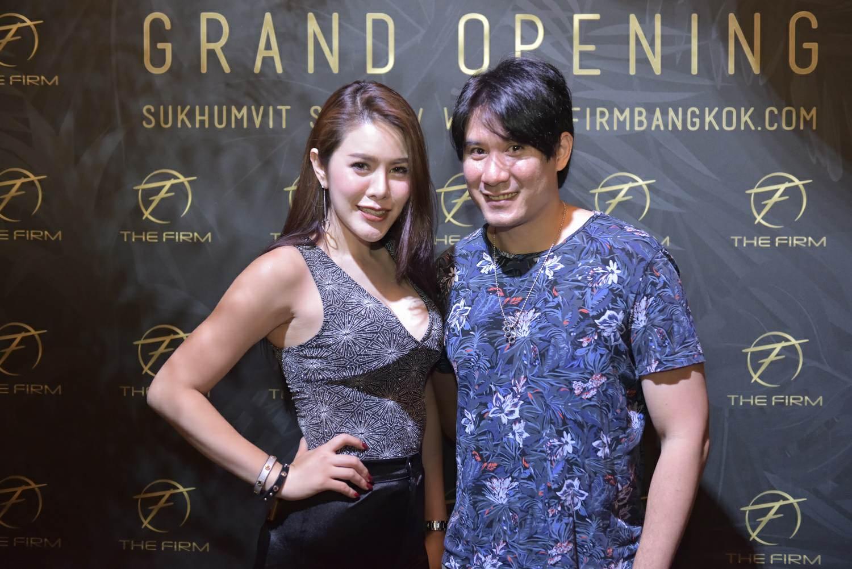 เปิดตัวร้าน The Firm Bangkok
