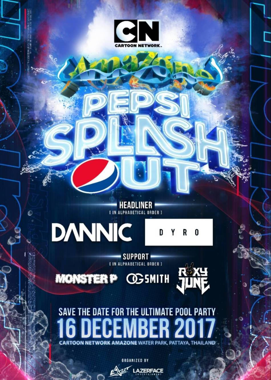 Cartoon Network Amazone Presents Pepsi Splash Out 2017
