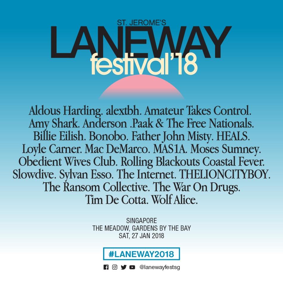 Laneway Festival 2018