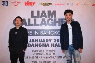 แถลงข่าว LIAM GALLAGHER LIVE IN BANGKOK