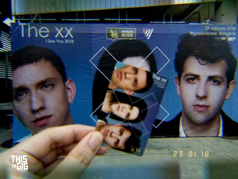 The xx live in Bangkok