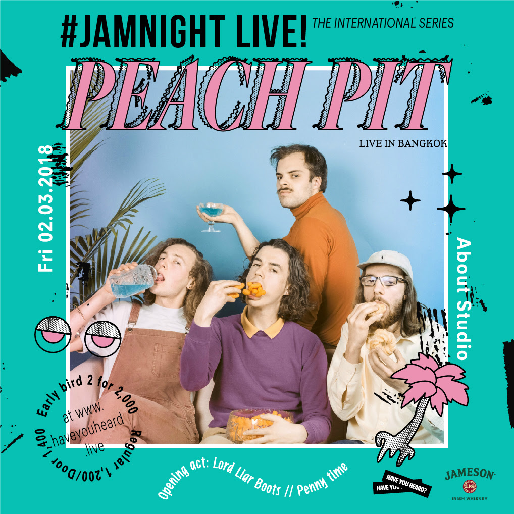 JAMnight Live! with Peach Pit