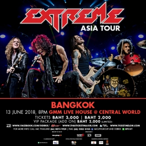 EXTREME LIVE IN BANGKOK 2018