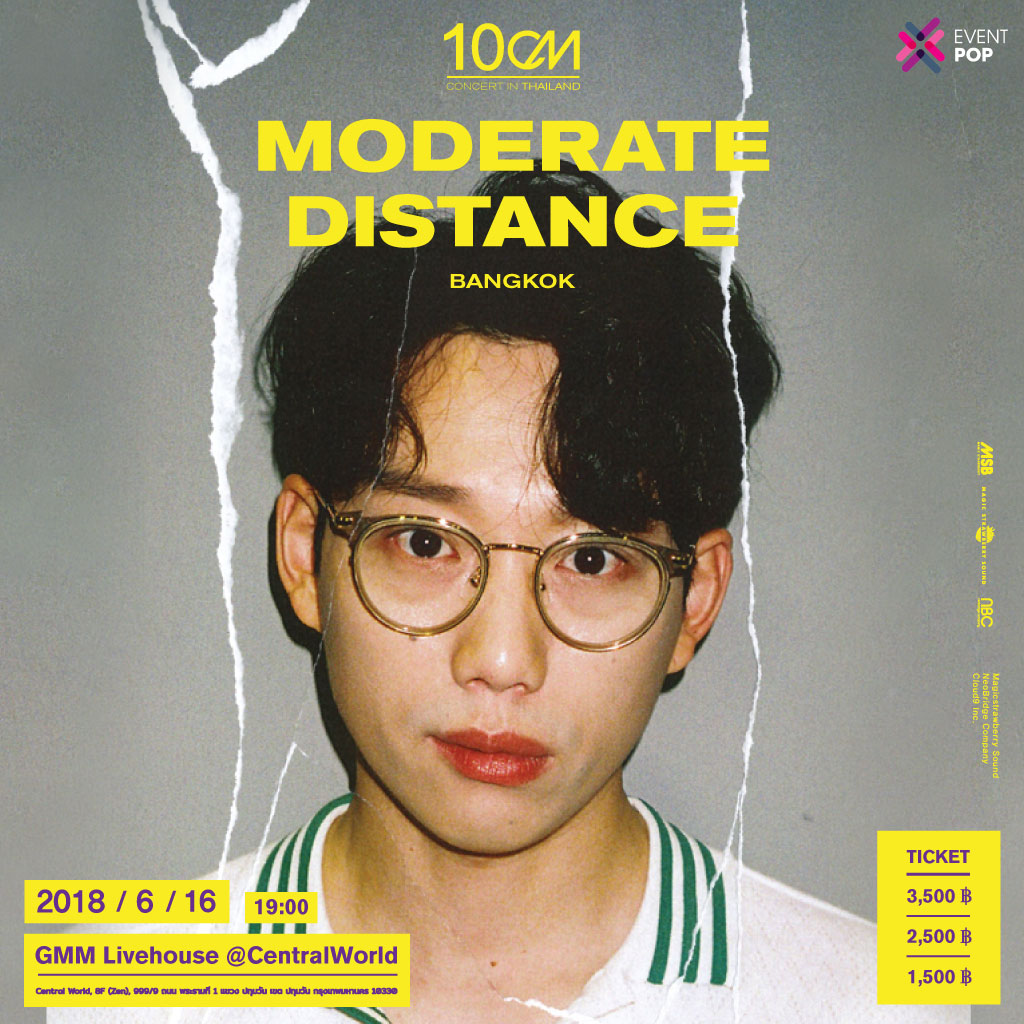 10CM Special Concert 'Moderate Distance in Bangkok'