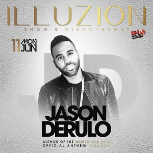 Jason Derulo LIVE ON STAGE at ILLUZION PHUKET