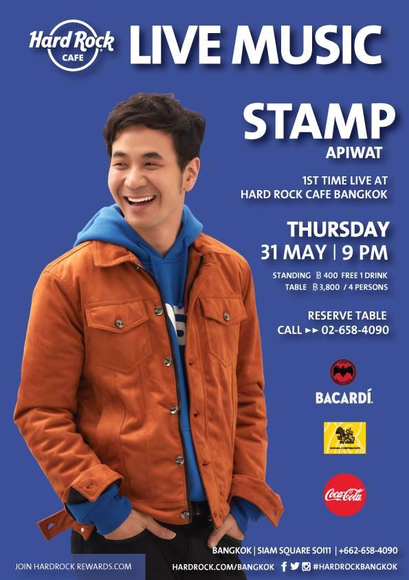 Stamp Live at Hard Rock Cafe Bangkok