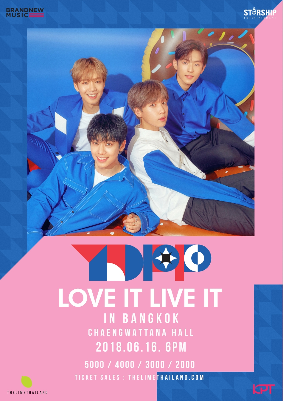 YDPP LOVE IT LIVE IT IN BANGKOK 2018