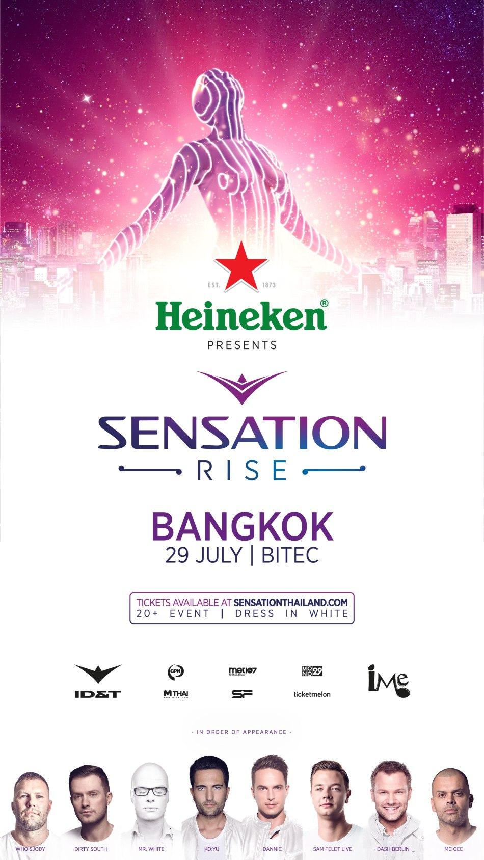 Sensation Thailand