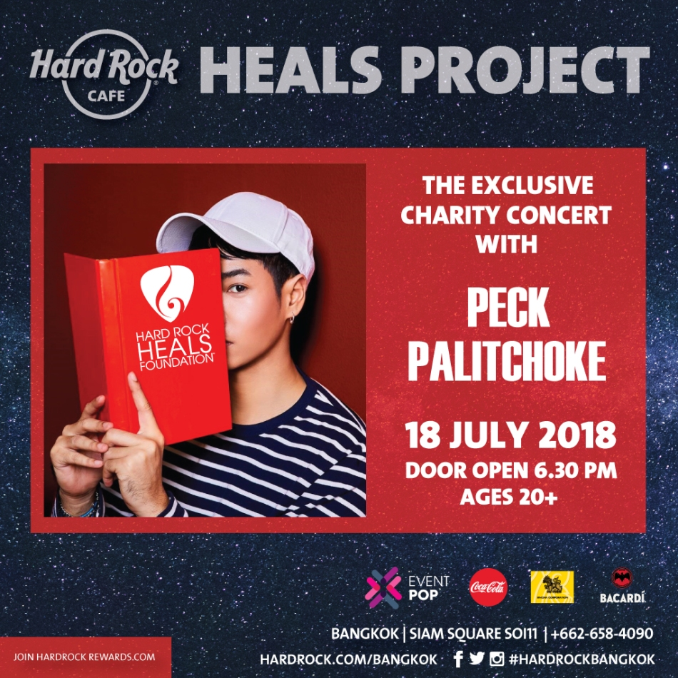 Heal Project Charity Concert with Peck Palitchoke