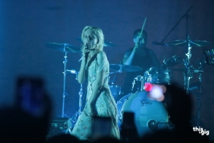 Wolf Alice ที่งาน Mangosteen Music Festival