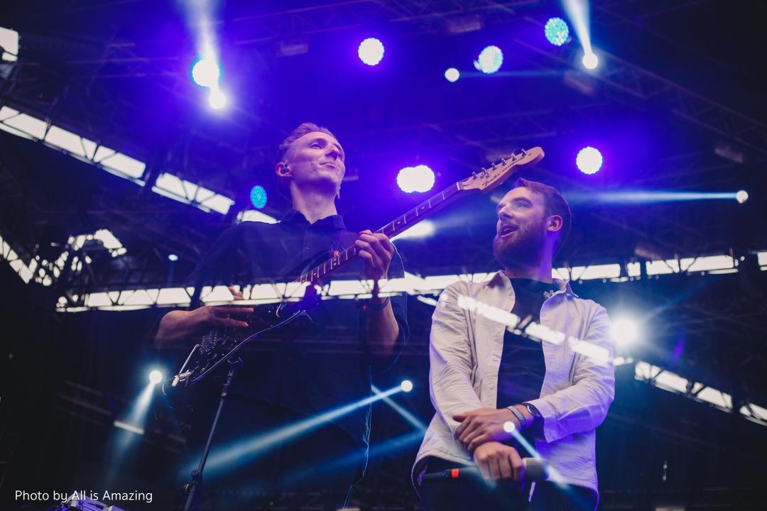 HONNE at Good vibe Festival 2018